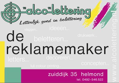 Alco lettering